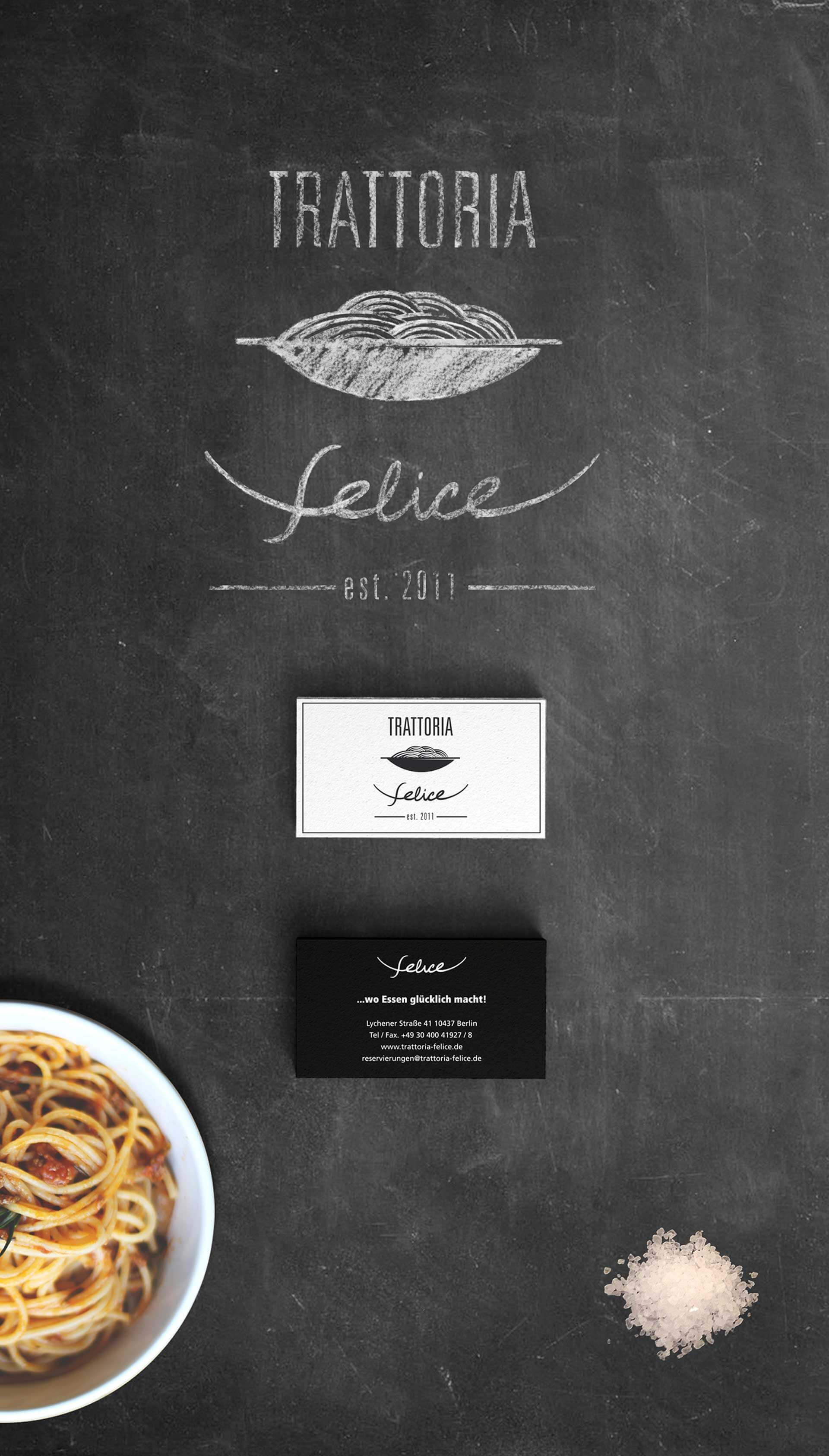 Trattoria Felice Branding by markos-esther