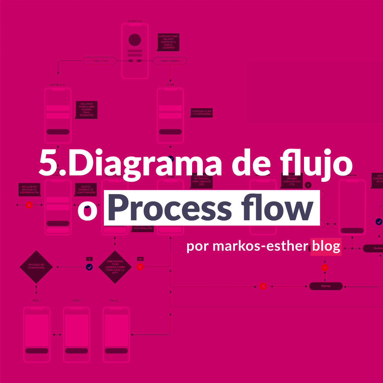 Diagrama de flujo o Process flow